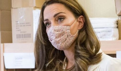 Kate Middleton in TEARS at coronavirus horror as she steps out in mask for first time