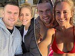 Former footballer Luke Burgess enjoys a date at a cafe with girlfriend Tori May