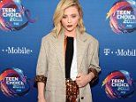 Teen Choice Awards: Chloe Grace Moretz suits up in blazer and sparkling dress on red carpet