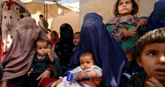 Desperate parents sell their babies as food poverty spirals in Afghanistan