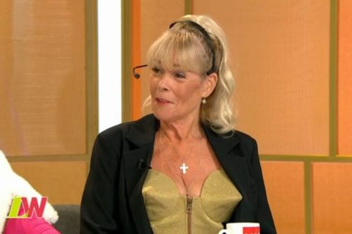 Loose Women: Linda Robson, 60, shows off sensational figure in Madonna-style cone bra as actress reveals new fitness secret