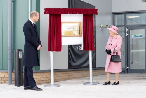 The Queen returns to public duties with a visit to Porton Down