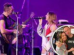Coldplay and Melanie C team up to perform Spice Girls' 2 Become 1 at Hollywood Bowl charity concert