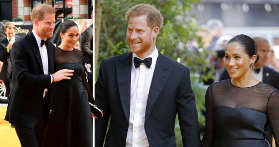 Meghan Markle and Prince Harry mingle with celebs at Lion King premiere