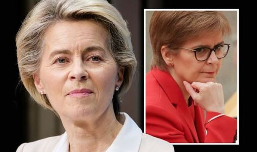EU chiefs 'raise middle finger' to UK and invite Scotland to Brussels scheme-leaked letter