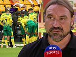 Daniel Farke slams Norwich flops after relegated side had two sent off in limp home loss to Burnley