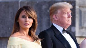 Melania Trump has paid an emotional tribute to Karl Lagerfeld