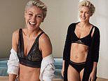 Emma Willis, 43, showcases her incredible toned physique in lacy lingerie