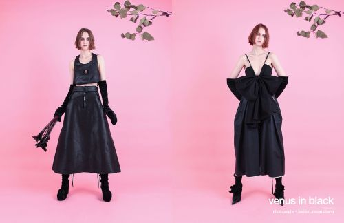 Venus in black by moon chang | meet the designer