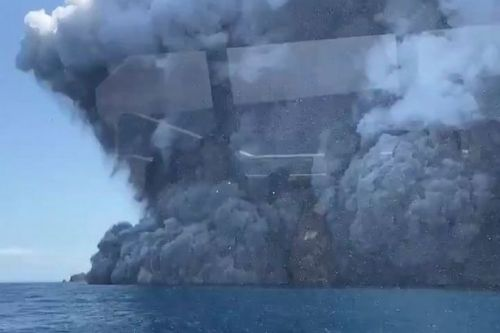 Two British women among 31 injured after New Zealand volcanic eruption
