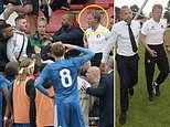 Dirk Kuyt and Johnny Heitinga embroiled in fan violence as ultras fight at U19 game