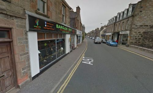 Vandals tried to smash charity shop window with a hammer and stones