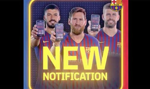 Barcelona confirm Kevin-Prince Boateng transfer as Lionel Messi stars in weird video
