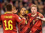 Belgium 6-1 Cyprus: Kevin De Bruyne's brace maintains 100% record in Euro 2020 qualifying