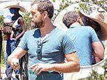 Joshua Jackson and wife Jodie Turner-Smith put their passion on display during outing