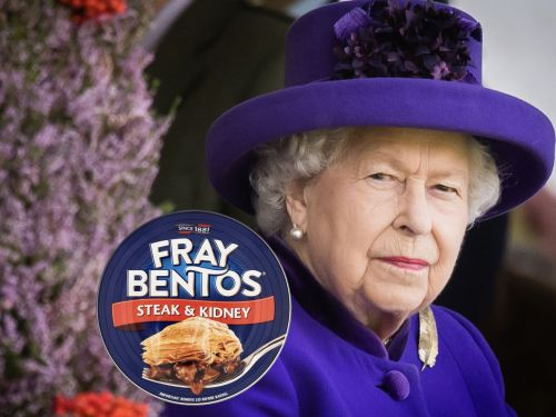 Does the Queen of England Really Eat Fray Bentos Pies at 30,000 Feet?