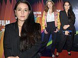 Jessie Ware looks chic in a black blazer while Lily Cole shows her unique style at She Will premiere