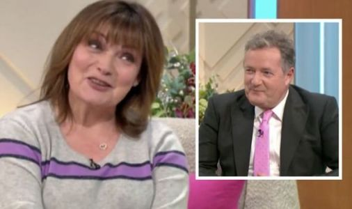 Lorraine Kelly left red-faced after Piers' cheeky remark about her 'boobs and bum'