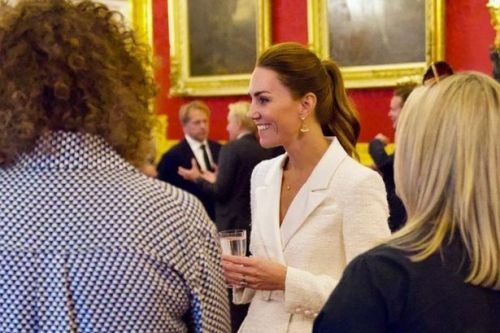 Kate Middleton wows in white as she redesigns her look to suit Royal protocol