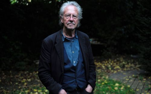 Protest and boycotts as Austrian author accused of supporting Milosevic to receive Nobel prize