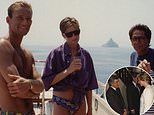 Princess Diana looks radiant on board a yacht with Prince Kyril of Preslavin unseen photos