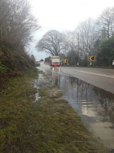 Moray residents on flood alert while heavy rains causes travel disruption in the north