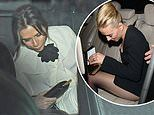 Bleary-eyed Victoria Beckham and Scarlett Johansson lead worse-for-wear stars leaving BAFTAs