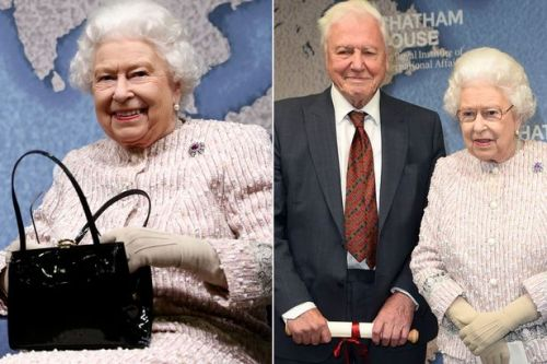 Queen carries on professional as ever hours after letting Andrew quit public life
