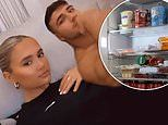 Molly-Mae Hague shares a glimpse into her fridge which is full of Coca-cola and yogurt