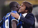 Romelu Lukaku hails Antonio Conte after scoring in Inter Milan's derby win