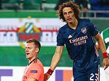 David Luiz backs 'amazing' Bernd Leno to recover from howler after he gifted Rapid Vienna the lead