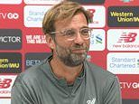 Liverpool boss Jurgen Klopp launches attack on 'senseless' Nations League