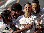 Sevilla 2-0 Roma: Europa League masters book place in next round as Reguilon and En-Nesyri strike