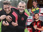 Jack Wilshere claims Mesut Ozil was not given a 'fair opportunity' during his final year at Arsenal