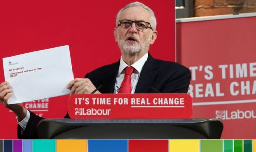 General election: Jeremy Corbyn says Treasury document proves there will be N Ireland checks