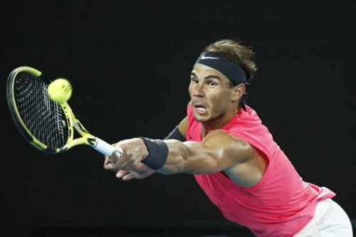When does Rafael Nadal play next at the Australian Open?
