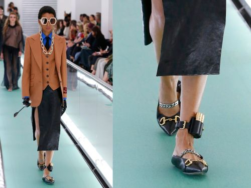 Gucci designed a leather anklet with 'lipstick bullets' and the brand is under fire because it resembles a house arrest ankle monitor