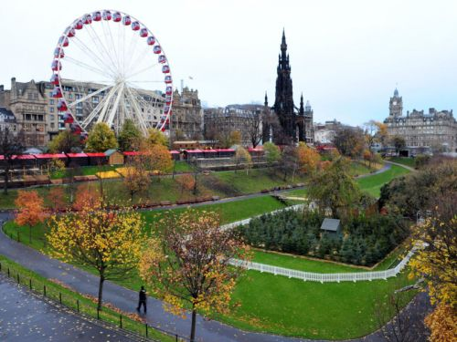 Future of Edinburgh's festival ferris wheel thrown into doubt over fears for trees