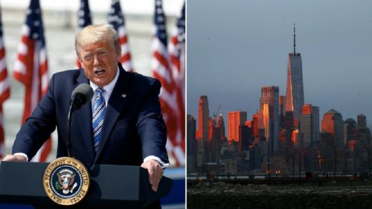 Donald Trump plans to lock down entire states of New York, New Jersey and Connecticut to try and beat coronavirus