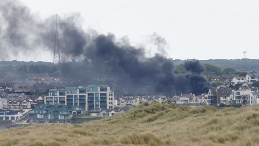 Fire service tackles blaze at two bungalows in Portstewart