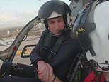 Prince William wants to RETURN to the NHS as an air ambulance pilot