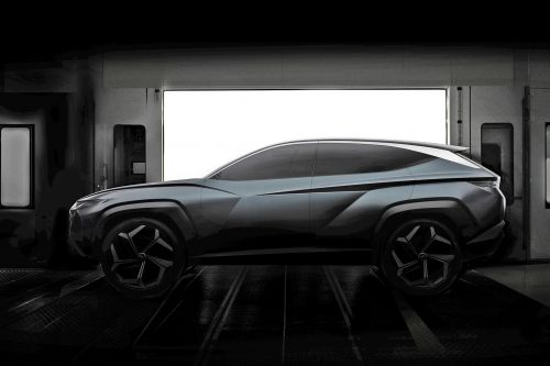 Hyundai Vision T plug-in hybrid SUV concept teased