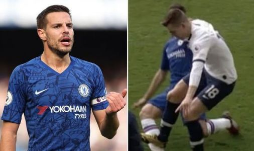 Chelsea star Cesar Azpilicueta blasts VAR as Giovani Lo Celso escapes red card for Spurs