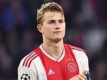 Juventus 'agree a deal with Ajax' to signdefender Matthijs de Ligt