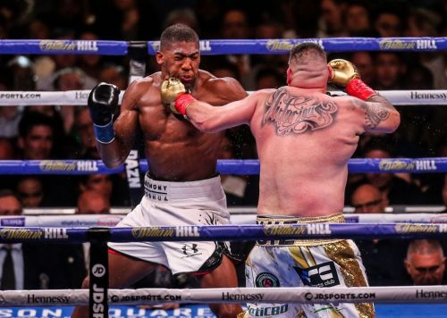 Anthony Joshua says Andy Ruiz 'ain't that skilful' and beat him with a 'lucky punch'