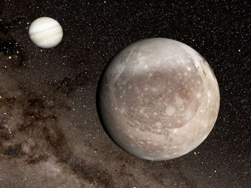 Jupiter's moon Ganymede shows hints of solar system's largest impact