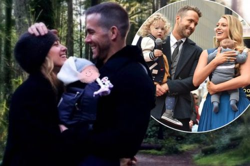 Ryan Reynolds shares first picture of third child with Blake Lively