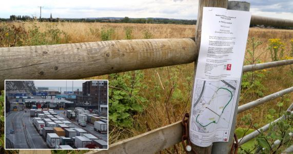 Fears 27-acre plot bought by government will become 'Brexit lorry park'