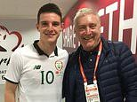 Declan Rice's dad is 'disappointed' his son decided to play for England over Ireland