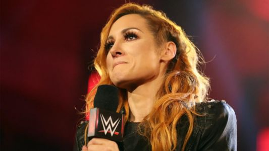 WWE's Becky Lynch considered wrestling while pregnant to drop championship to Asuka